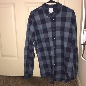Brooks brothers Regent Blue checkered button up